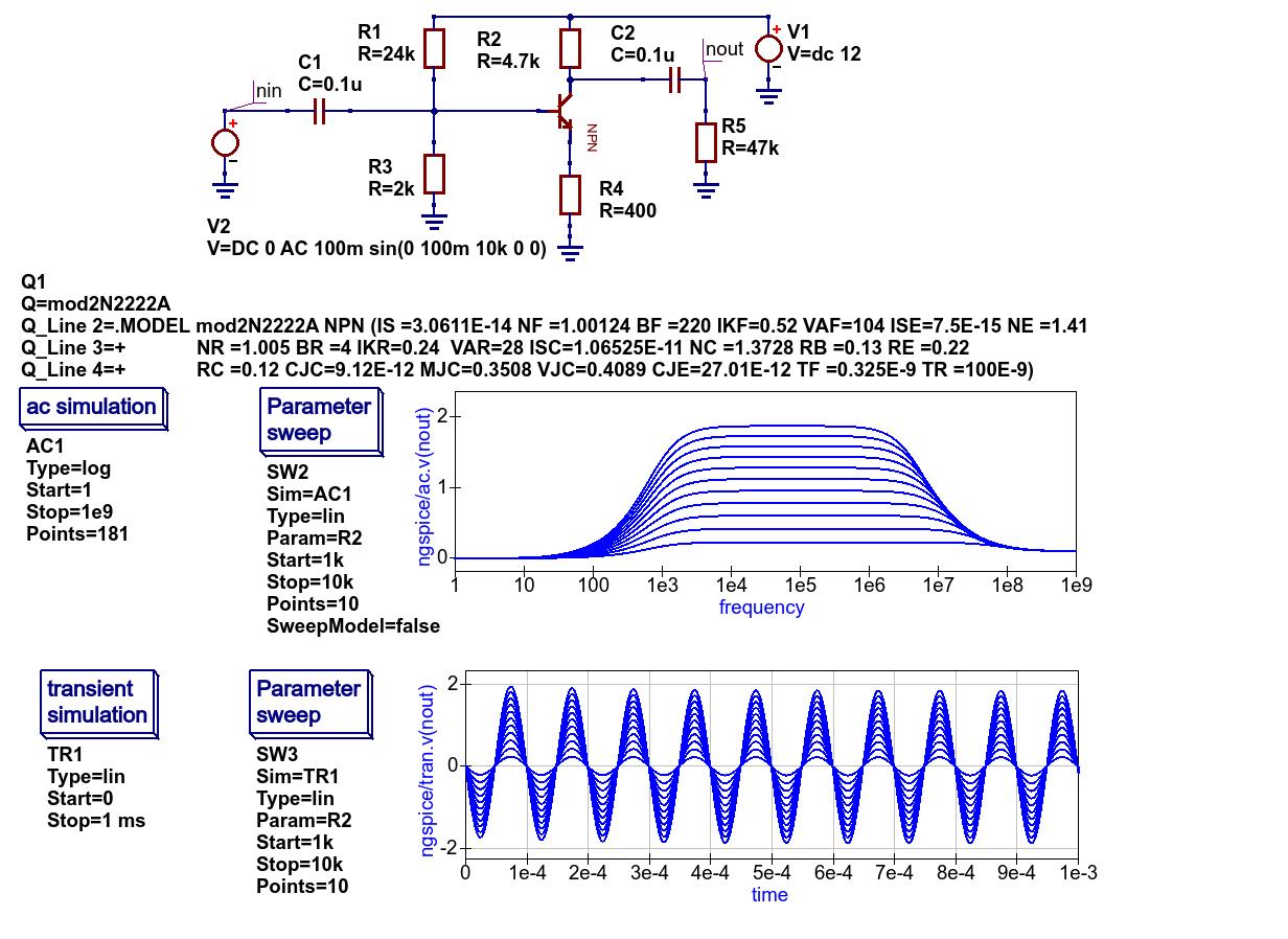 More advanced circuit simulation techniques  — Qucs-S Help